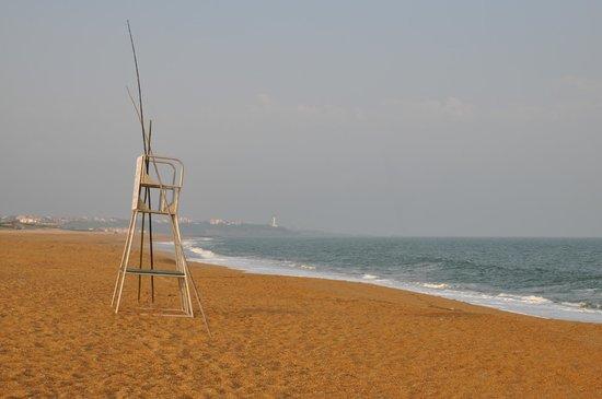 Atlanthal : le matin la plage pour soi