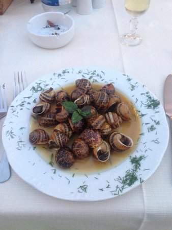 Castelvecchio : Nice fresh snails not like Holland