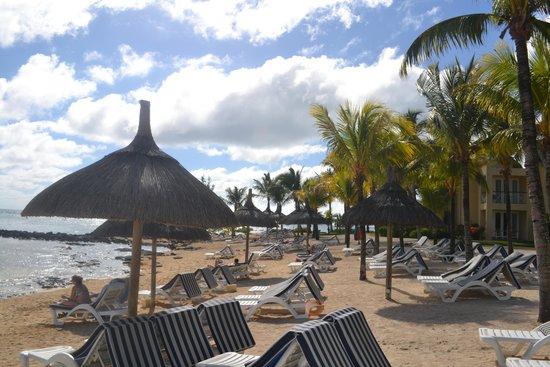 Canonnier Beachcomber Golf Resort & Spa: beach at the hotel