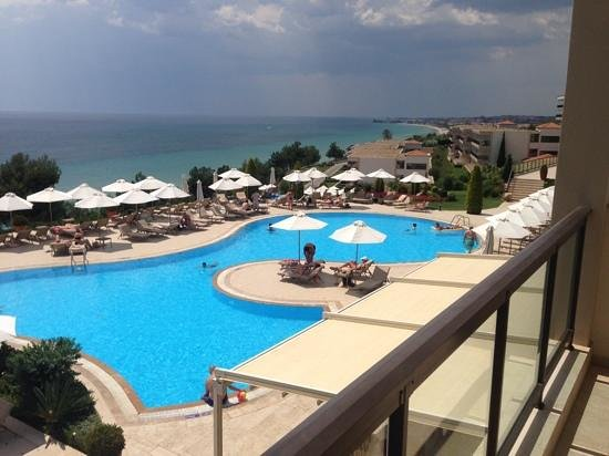 Ikos Oceania: view from our balcony