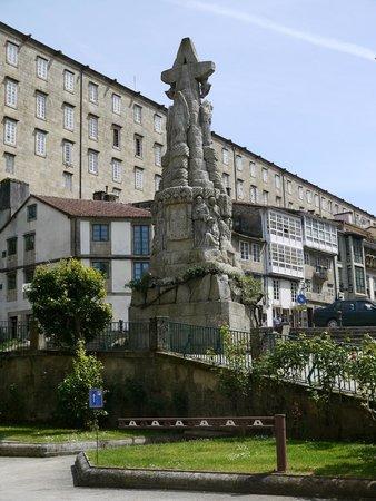 San Francisco Hotel Monumento: Вид из номера