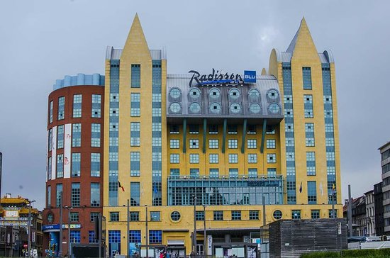 Radisson Blu Astrid Hotel, Antwerp: The hotel