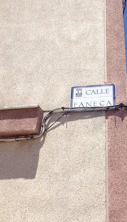 Meson El Gato : Calle Faneca nº51
