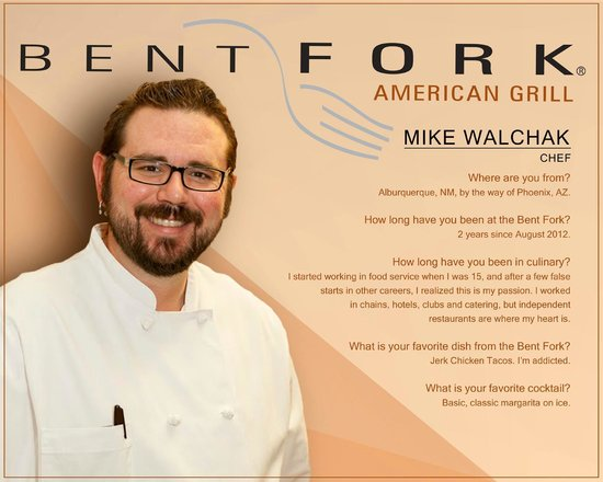 Bent Fork American Grill : Meet Mike !!!