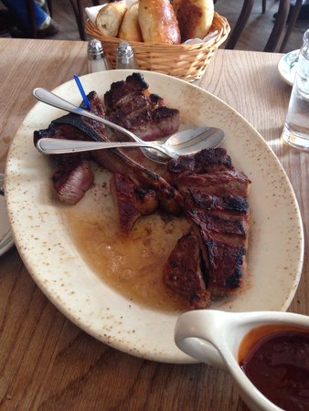 Peter Luger Steak House : Peter Lugers steak for two