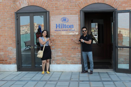 Hilton Molino Stucky Venice Hotel: entrance