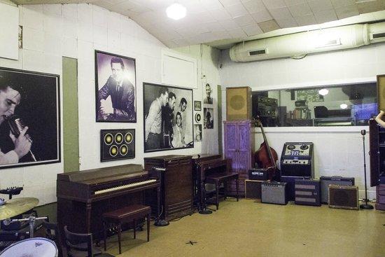 Sun Studio : Interior of Sun Records