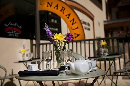 The Cafe Naranja at the Edelweiss Lodge & Spa