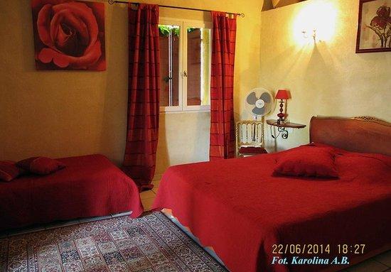 Le Mas Jorel : Red Room