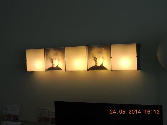 art'otel berlin kudamm: Exposição