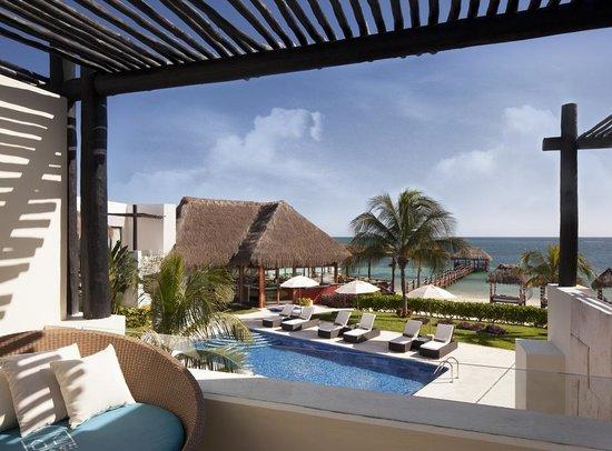 Azul Beach Resort Riviera Maya: Royal Suite Balcony