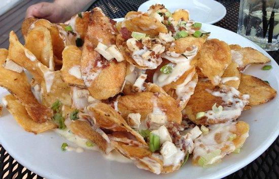 Muddy Rudder Restaurant: Chips