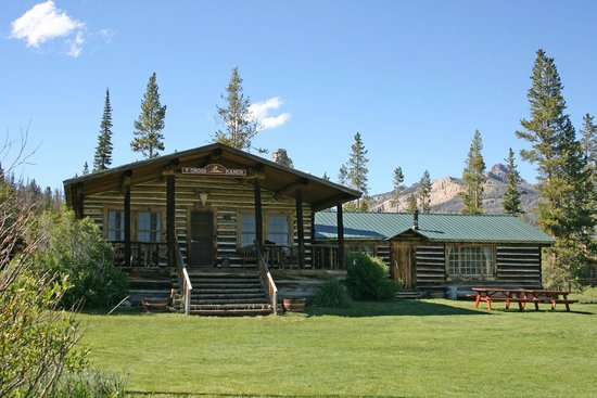 T Cross Ranch: Dining all and Lodge-