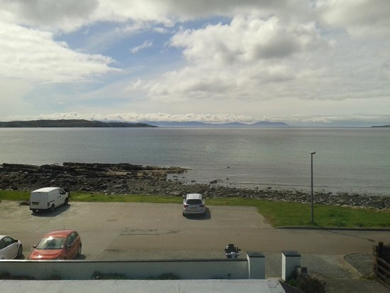 Myrtle Bank Hotel: View from our bedroom