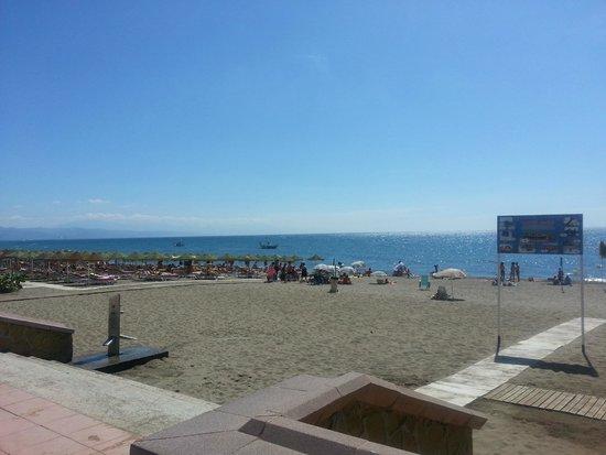 Hotel Palmasol: Beach