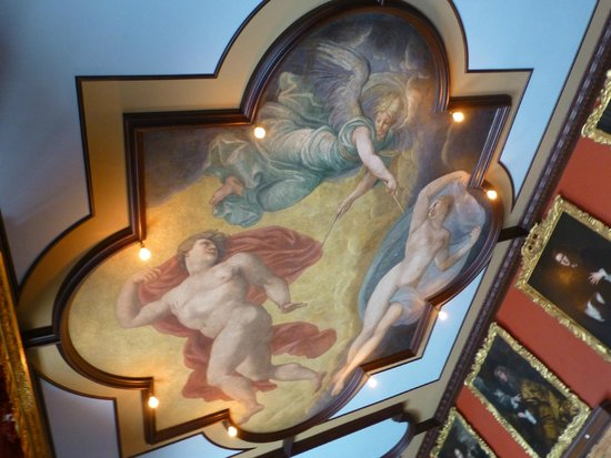 Kingston Lacy: painted ceiling