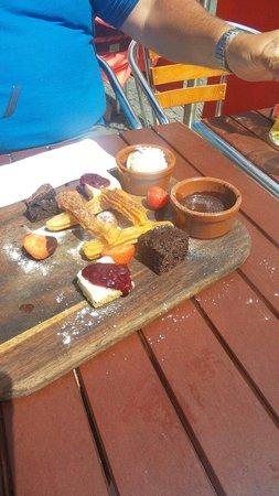 La Tasca Liverpool: Delicious dessert!