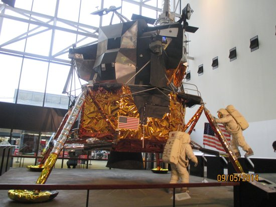 National Air and Space Museum : Module lunaire apollo