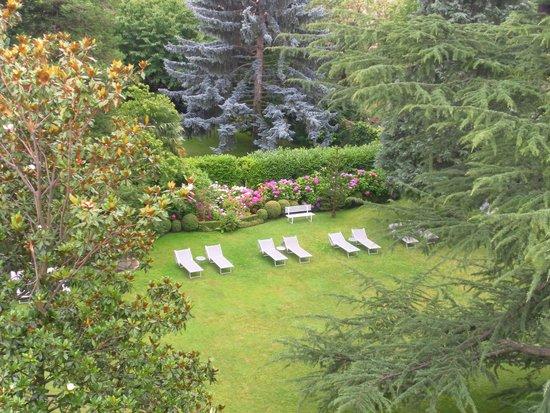 Park Hotel Mignon & Spa: Garden area