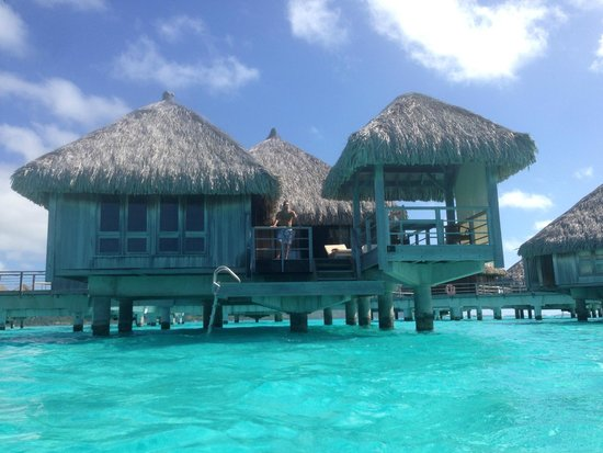 The St. Regis Bora Bora Resort: Our bungalow, #303