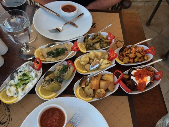 Ziggy's Shoppe & Cafe: Part of the delicious Turkish Meze