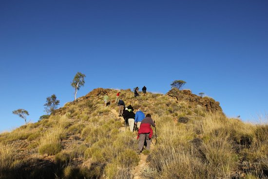 The Larapinta Trail: Counts Point