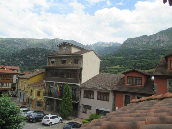 Hotel Plaza la Abadía: vista desde la habitación