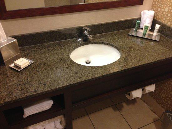 Hilton Knoxville: bathroom