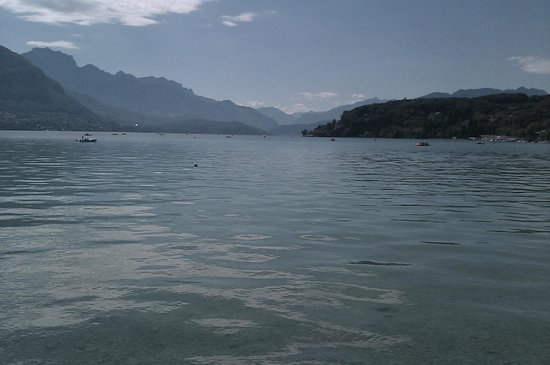 Camping les Fontaines : lac d annecy