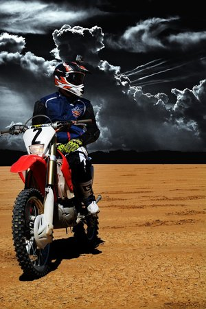 Another Dirt Bike Rider On Tour Picture Of American Adventure