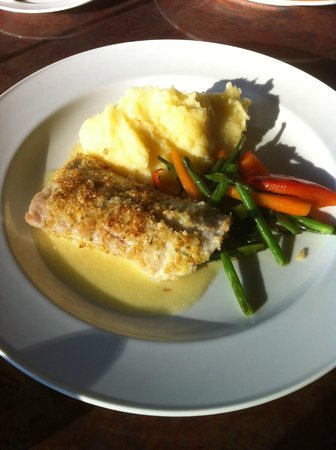 Horizons Restaurant: Breaded Rock Fish