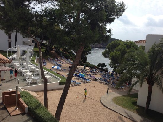Inturotel Cala Azul Park: Nice View from end of Block B