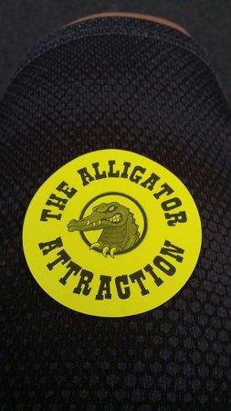The Alligator Attraction: My ticket