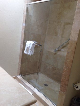 Westward Look Wyndham Grand Resort and Spa: Very nice shower in jr suite