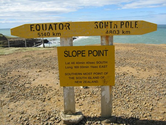 Slope Point : Sloope Point