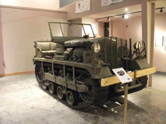 Wright Museum of WWII: Military 'dozer