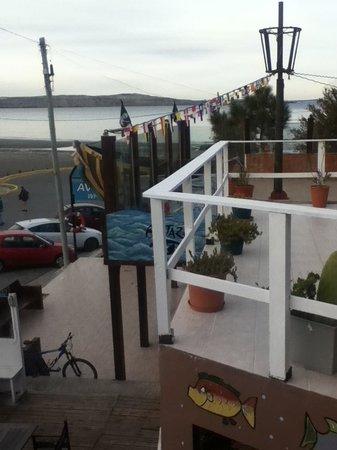 Hosteria Puerto Palos: view from the balcony