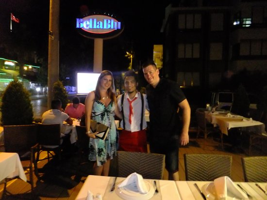 Ristorante BellaBlu : With Kadir