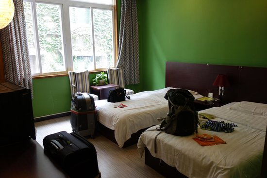 Chengdu Lazy Bones Backpackers Boutique Hostel: 雙人間
