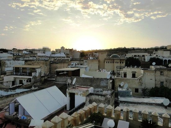 Riad Adarissa : View from terrace