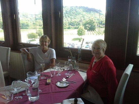 Denbies Wine Estate: Lunch on the third floor !