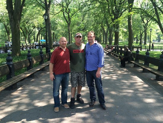 Manhattan Walking Tour: New friends in NYC, Gary is a great go to person for advice