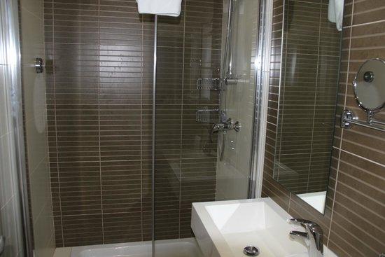 Argento Hotel: douche