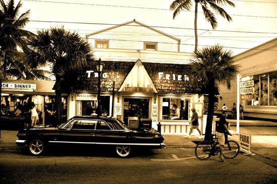 Two Friends Patio Restaurant: This Building Has Been Part Of The Key West  Community For