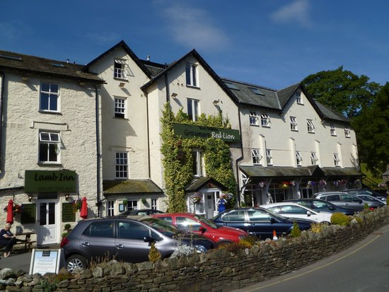 The Inn at Grasmere : The front of the Red Lion