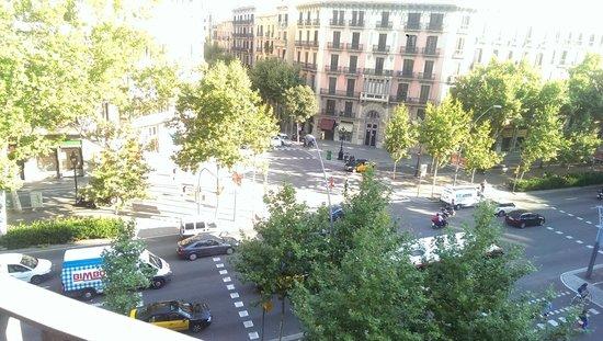 El Puchi Barcelona : Вид из номера