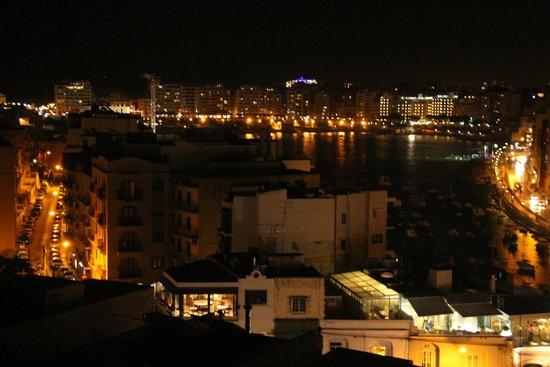 Argento Hotel: St Julian's de nuit