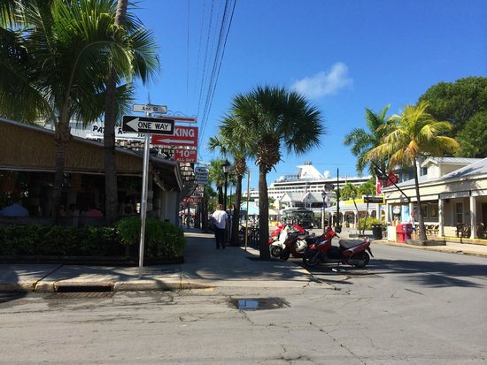 Two Friends Patio Restaurant: We Are Within Walking Distance To The Key  West Cruise Ship