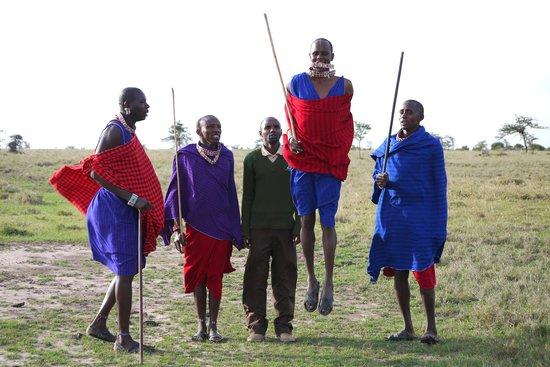 Porini Rhino Camp : Maasai