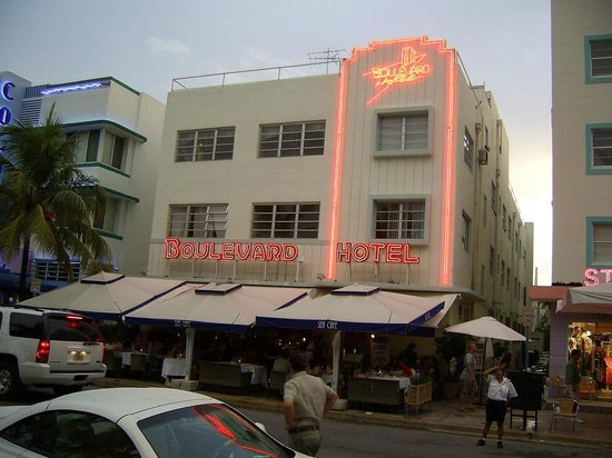 Boulevard Hotel Boutique Neon On Ocean Drive